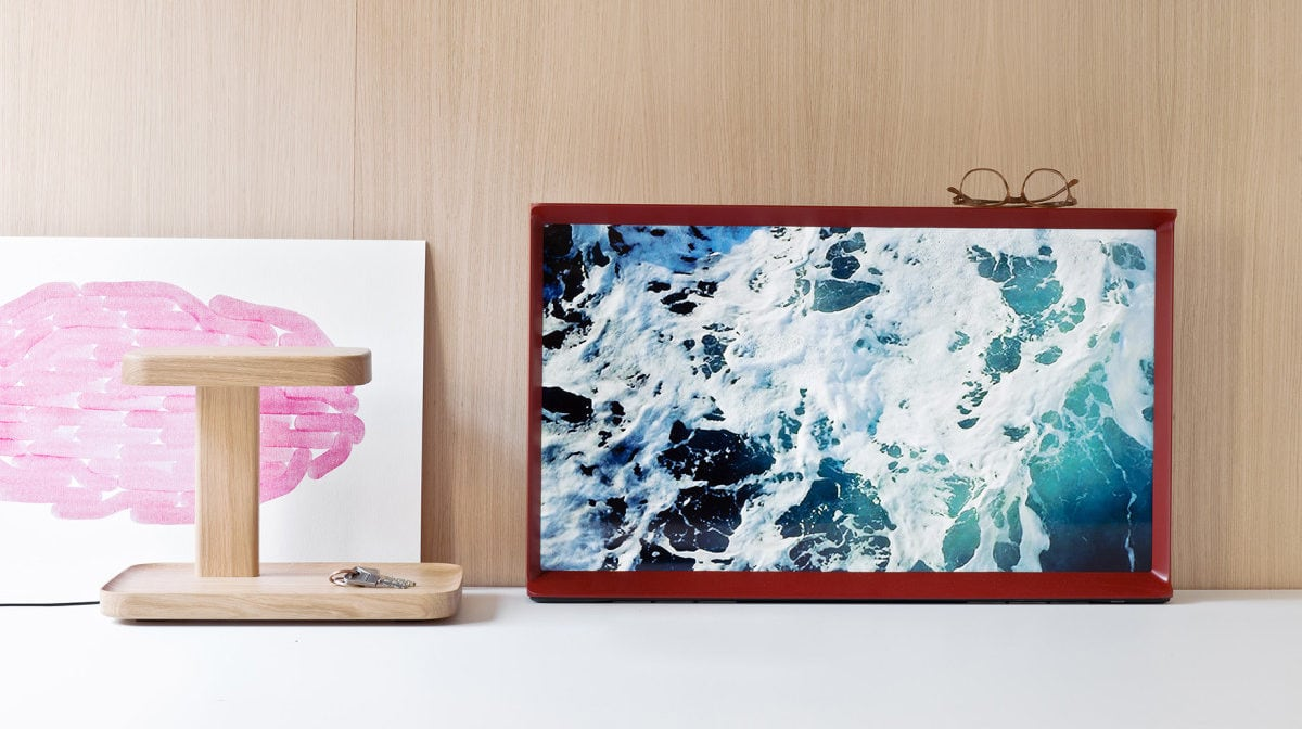 The Serif TV is more a piece of design furniture than it is an electronic device.