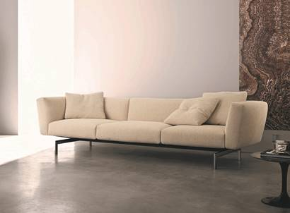 """Simplicity is the ultimate form of sophistication"" - this shows perfectly in the new Avio sofa system!"