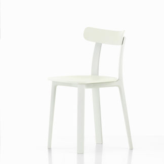 Vitra All Plastic Chair All Plastic Chair stoel wit by designer:Jasper Morris