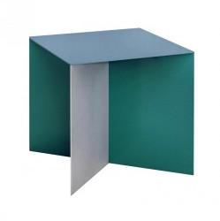Valerie Objects Alu Square Alu Square blue by designer:Muller van Severen