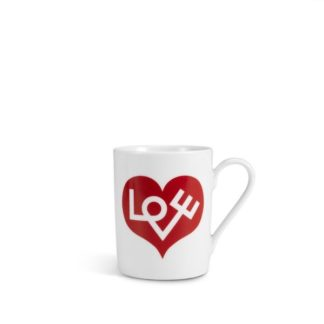 Vitra Coffee Mugs Love Heart coffee mug, love heart rood