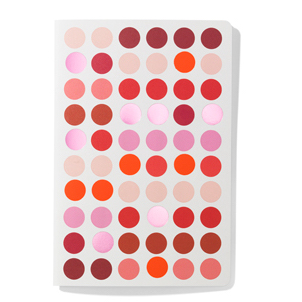 Vitra Dot Notebook A5 dot notebook, A5 reds by designer:Hella Jongerius