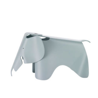 Vitra Eames Elephant small eames elephant small ijsgrijs by designer:Charles & Ray Eames