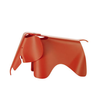 Vitra Eames Elephant small Eames Elephant small, rood by designer:Charles & Ray Eames
