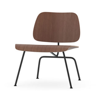 Vitra Plywood Group LCM Plywood Group LCM stoel walnoot by designer:Charles & Ray Eames