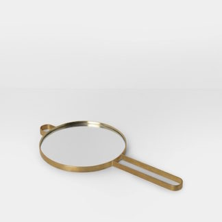 Ferm Living Poise Hand Mirror poise hand mirror, messing