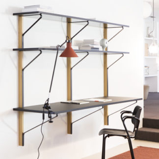 Artek REB 010 Kaari Shelf with desk REB 010 Kaari Shelf met bureau