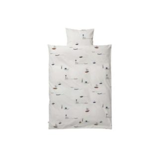 Ferm Living Seaside bedding Seaside Bedding adult, 140 x 200 cm