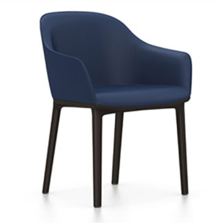 Vitra Softshell Chair Softshell Chair armstoel donkerblauw by designer:Ronan & Erwan Bouroullec
