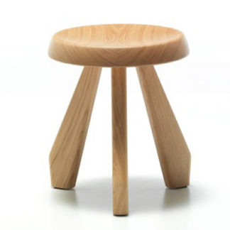 Cassina Tabouret Meribel Tabouret Meribel eik naturel by designer:Charlotte Perriand