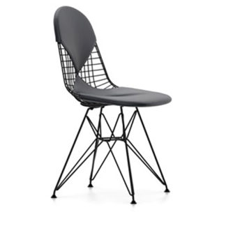 Vitra Wire chair DKR-2 Wire Chair DKR-2 stoel zwart by designer:Charles & Ray Eames