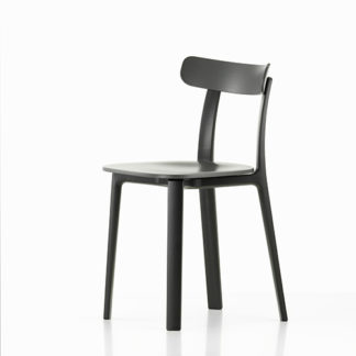 Vitra All Plastic Chair All Plastic Chair stoel graphite grey by designer:Jasper Morrison