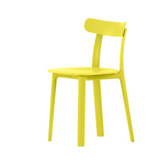 Vitra All Plastic Chair All Plastic Chair stoel buttercup by designer:Jasper Morrison