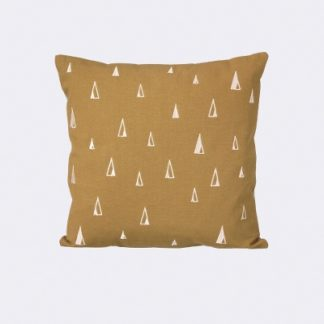Ferm Living Cone Cushion cone cushion, curry