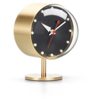 Vitra Desk Clocks night clock, messing