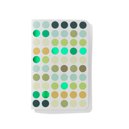 Vitra Dot Notebook Pocket dot notebook, pocket greens by designer:Hella Jongerius