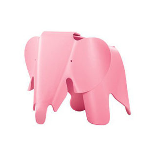 Vitra Eames Elephant Eames Elephant licht-roze by designer:Charles & Ray Eames