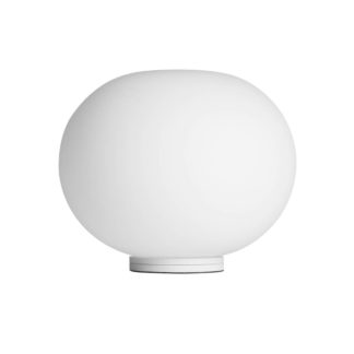 Flos Glo ball basic Glo Ball Basic tafellamp opaal wit met switch by designer:Jasper Morrison