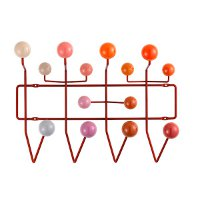 Vitra Hang it all hang it all, rood by designer:Charles & Ray Eames