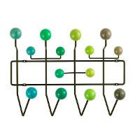 Vitra Hang it all hang it all, groen by designer:Charles & Ray Eames