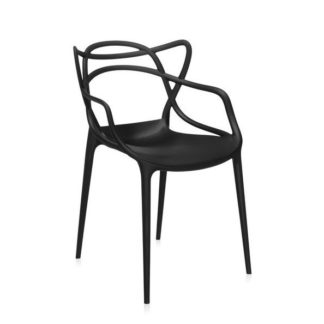 Kartell Masters chair Masters Chair stoel in polypropyleen zwart 09 by designer:Philippe Starck
