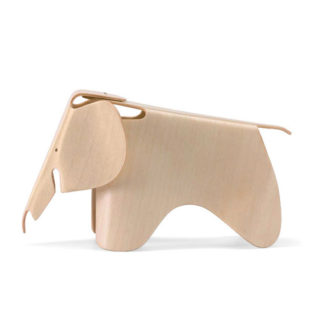 Vitra Miniatures Collection eames elephant plywood, mini by designer:Charles & Ray Eames
