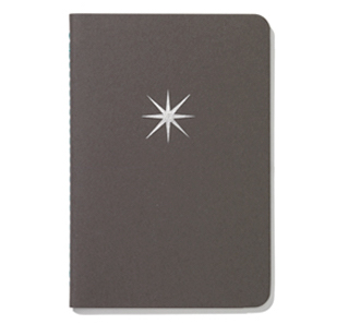 Vitra Notebooks notebook softcover pocket, ster by designer:Alexander Girard