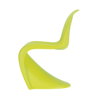 Vitra Panton junior Panton junior kinderstoel, dark lime by designer:Verner Panton