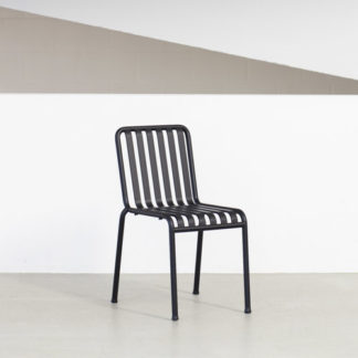 Palissade ChairPalissade Chair A , Gepoedercoat staal in antraciet