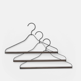 Coat hanger (set of 3)Coat hanger (set van 3), zwart