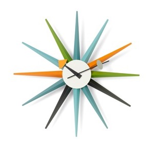 Sunburst ClocksSunburst clock - Multicolor