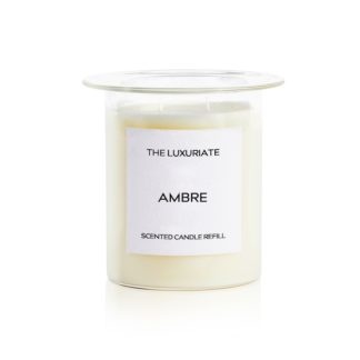 Scented Candle Insertscented candle insert - ambre - campfire aromas