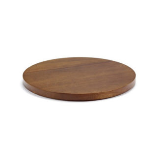 Dishes to Dishes Lid Large dishes to dishes deksel - acacia-wood - hunky dory ø26,6 cm