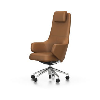 Grand Executive HighbackGrand Executive Highback bureelstoel, leder cognac