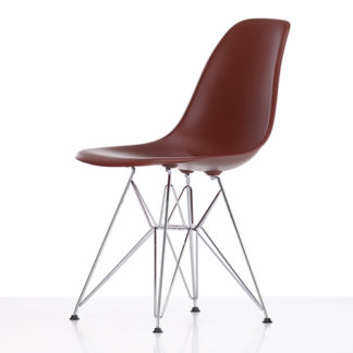 Eames Plastic Side chairEames Plastic Side Chair stoel rood
