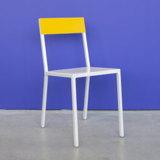 Alu ChairAlu Chair white/yellow