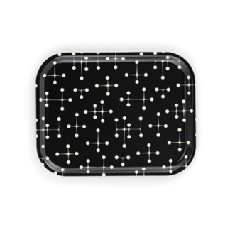 Classic Tray medium Classic Trays - Dot Pattern reverse dark, medium