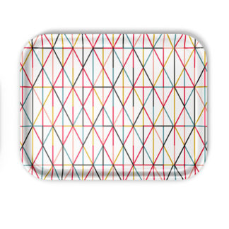 Classic Tray largeClassic Trays - Grid multicolour, large