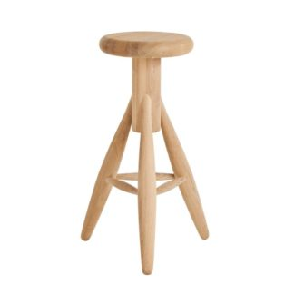 Rocket Bar StoolRocket Bar Stool, gezeept eiken zithoogte 73 cm
