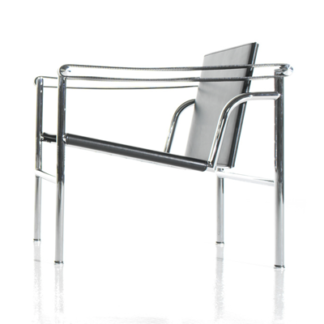 LC1LC1 - armchair - chrome frame seat and back