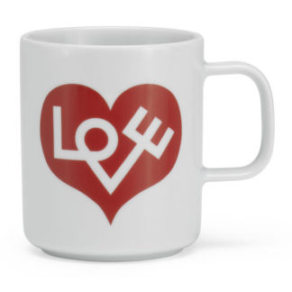 Coffee Mug - Love Heart Crimsonkoffietas - Love Heart Crimson