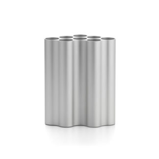 Nuage medium light silverNuage vaas, geanodiseerd aluminium, medium light silver