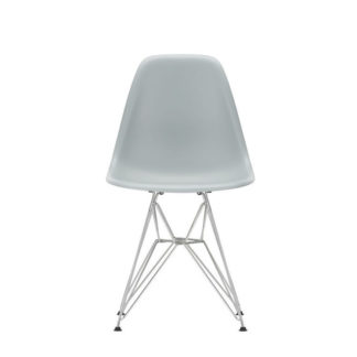 DSREames Plastic Side Chair, helder grijs
