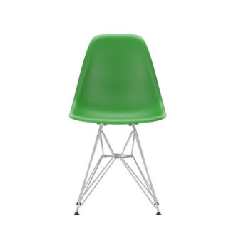 DSREames Plastic Side Chair, green