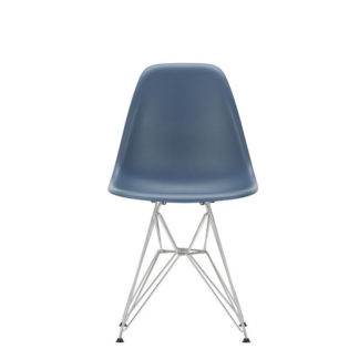 DSREames Plastic Side Chair, sea blue