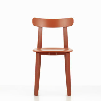 All Plastic Chair All Plastic Chair, brick - two-tone