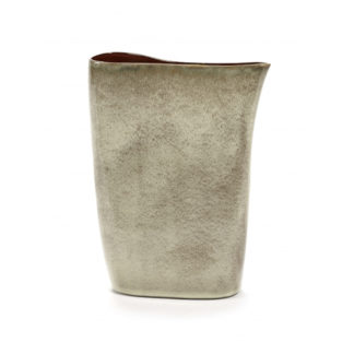 Vases by AnitaVases by Anita, hoge vaas mistey grey/rusty