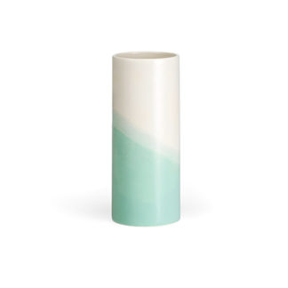 Herringbone VaseHerringbone Vase, glad, mint