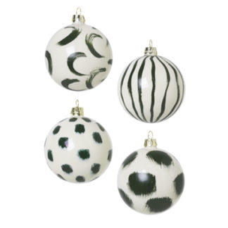 Christmas Glass Ornaments - groenChristmas Glass Ornaments - groen