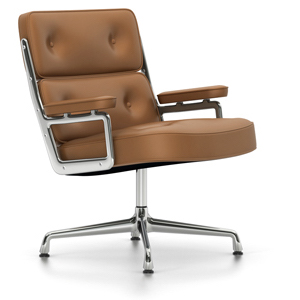 ES 108 Lobby ChairES 108 Lobby Chair, verchroomd, cognac, viltglijders